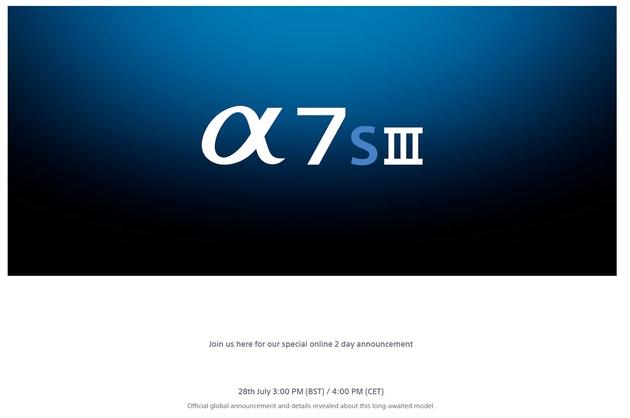 α7S III 本日深夜 海外で発表!