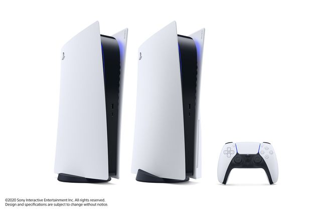 PS5 本体デザイン発表!